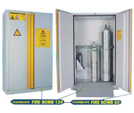 Safety storage cabinets CHEMISAFE