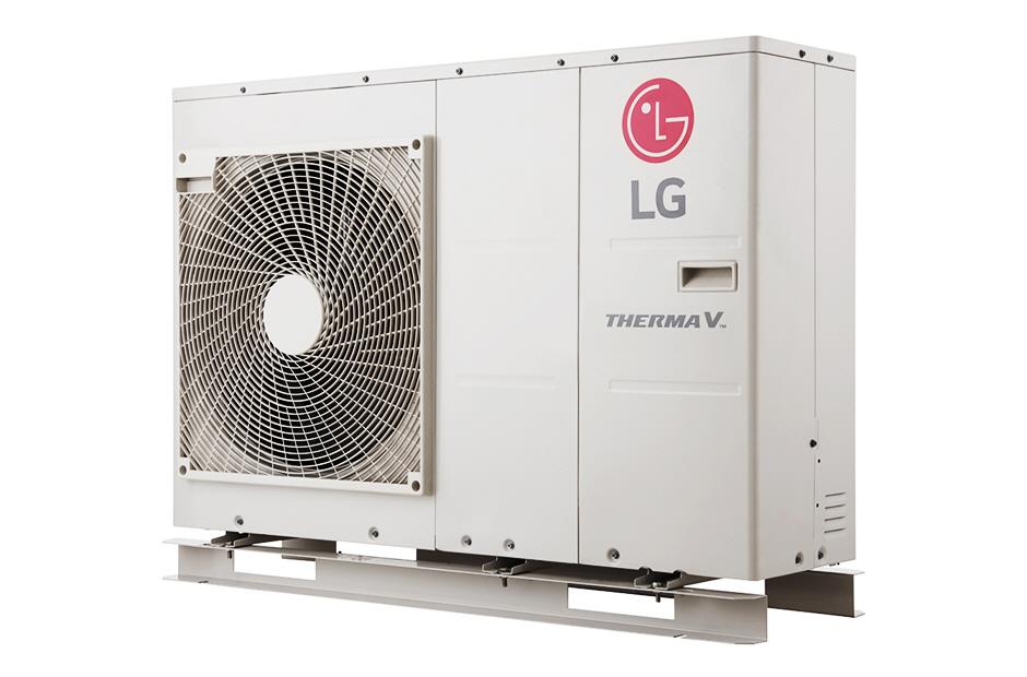 LG Therma V Air to Water Heat Pump, capacity: 9,0 Kw HM091