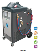 Refrigerant Recovery Unit For buses and big vehicles 150HP/P +PRINTER