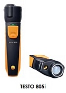 Infrared thermometer with smartphone operation TESTO 805i
