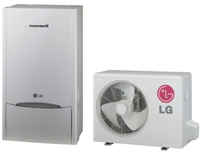 LG Therma V Air to Water Heat Pump, capacity: 7,0 Kw HU071