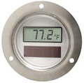 Round DM120 Digital Air Thermometer Φ50