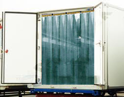 Air PVC strip Curtains -Insulating Doors