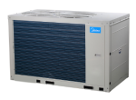 Midea air cooled scroll chillers