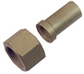 Refco Flare Brass Fitting ''EURO''