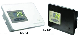 Digital Thermostats for fireplaces and wood-fired boilers BS-841, BS-844
